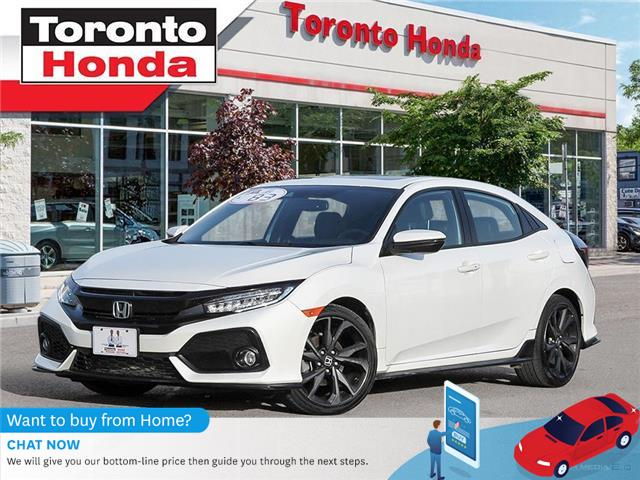 2018 Honda Civic Hatchback SPORT Touring  $500 Pre-Paid VISA-Black Friday Spe (Stk: H40965A) in Toronto - Image 1 of 27