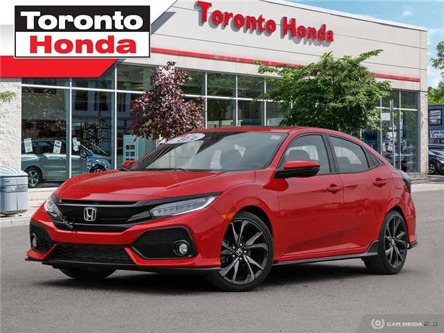 2018 Honda Civic Hatchback SPORT Touring $500 Pre-Paid VISA-Black Friday Spec (Stk: H41007A) in Toronto - Image 1 of 27