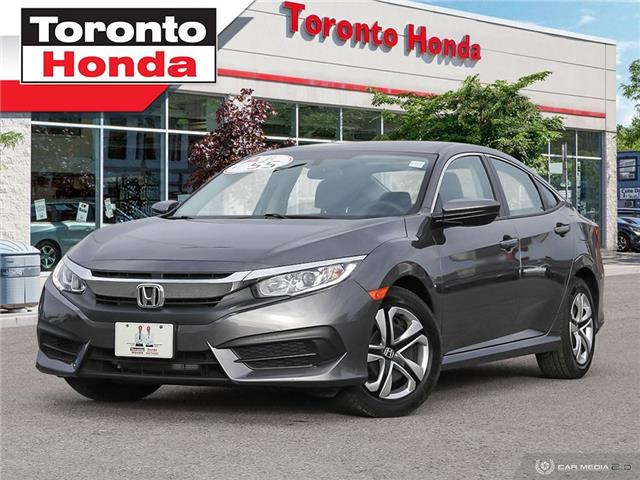 2017 Honda Civic Sedan LX $500 Pre-Paid VISA-Black Friday Special (Stk: H41033P) in Toronto - Image 1 of 27