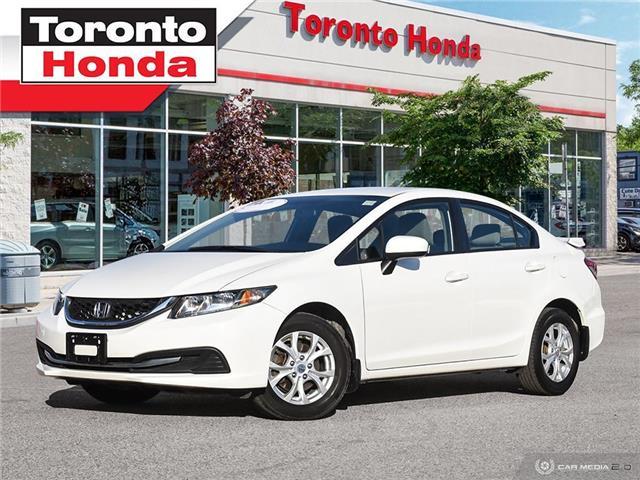 2015 Honda Civic Sedan LX Alloys $500 Pre-Paid VISA-Black Friday Special (Stk: H41029A) in Toronto - Image 1 of 27