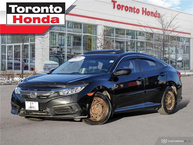 2016 Honda Civic Sedan EX|Engine Starter|Roof|Alloy|Heated Seats| (Stk: H40938T) in Toronto - Image 1 of 26