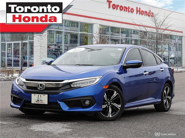 2016 Honda Civic Sedan TOURING (Stk: H40915A) in Toronto - Image 1 of 27