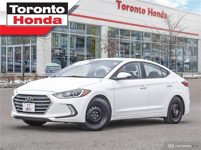 2018 Hyundai Elantra GLS|ROOF|REAR CAMERA|HEATED SEATS|CLEAN CARFAX (Stk: H41117T) in Toronto - Image 1 of 27