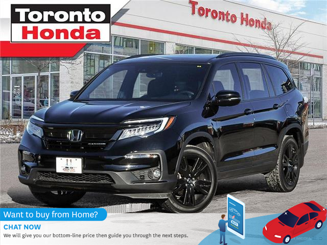 2019 Honda Pilot Black Edtion-WE ARE OPEN!!-ONE OWNER-CLEAN CARFAX- (Stk: H41058T) in Toronto - Image 1 of 28
