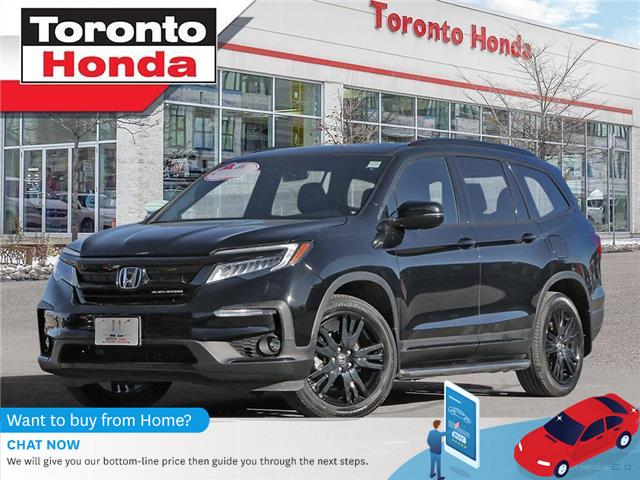 2019 Honda Pilot Black Edition-WE ARE OPEN!!!-ONE OWNER-CLEAN CARFA (Stk: H41070T) in Toronto - Image 1 of 27