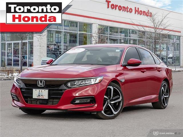 2018 Honda Accord Sedan SPORT (Stk: H40996T) in Toronto - Image 1 of 27