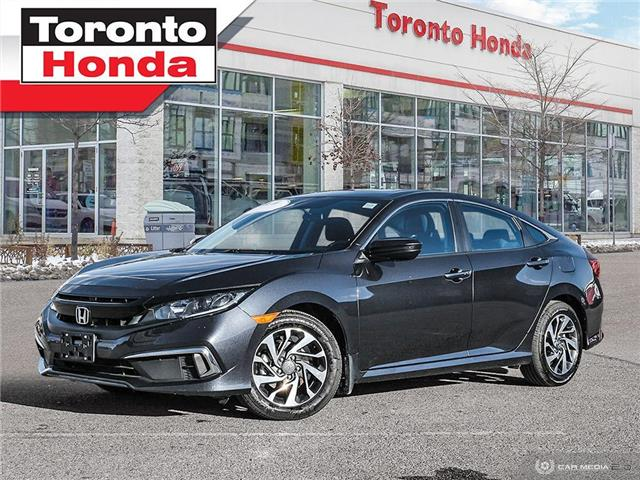 2020 Honda Civic Sedan EX (Stk: H41021T) in Toronto - Image 1 of 28