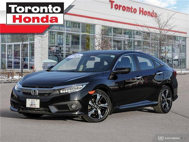 2017 Honda Civic Sedan Touring (Stk: H40983T) in Toronto - Image 1 of 27