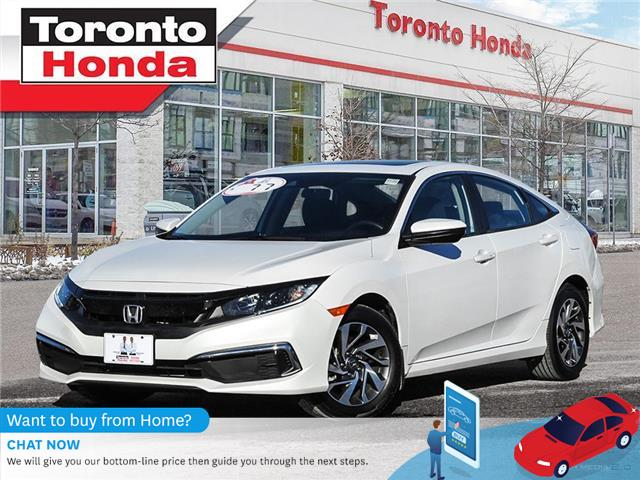 2020 Honda Civic Sedan EX (Stk: H41050P) in Toronto - Image 1 of 28