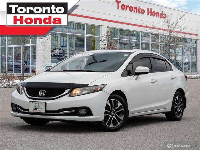 2015 Honda Civic Sedan EX (Stk: H40984T) in Toronto - Image 1 of 27