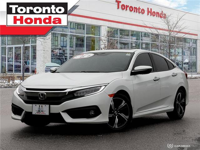 2017 Honda Civic Sedan Touring (Stk: H40890T) in Toronto - Image 1 of 27