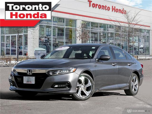 2018 Honda Accord Sedan EX-L/NO ACCIDENT/WARRANTY TILL 2023/100,000KM (Stk: H41087T) in Toronto - Image 1 of 27