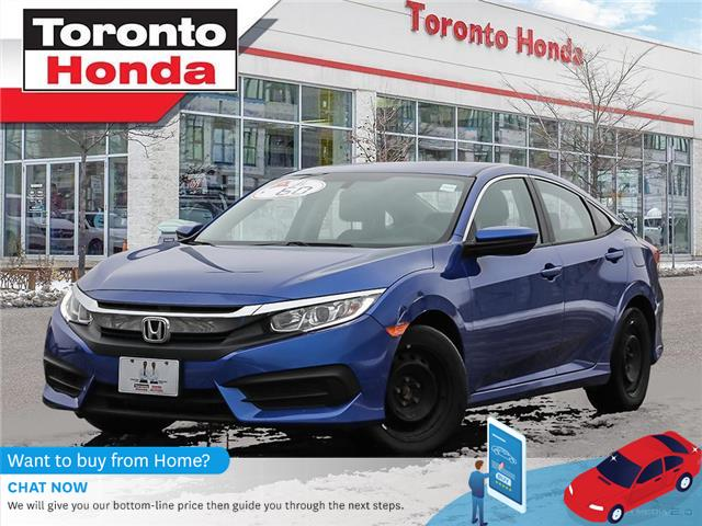 2018 Honda Civic Sedan LX (Stk: H41078T) in Toronto - Image 1 of 27