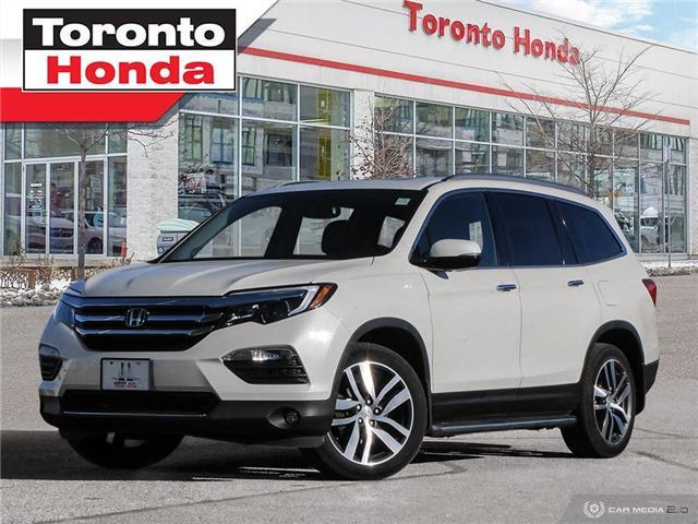 2017 Honda Pilot Touring (Stk: H41074P) in Toronto - Image 1 of 27
