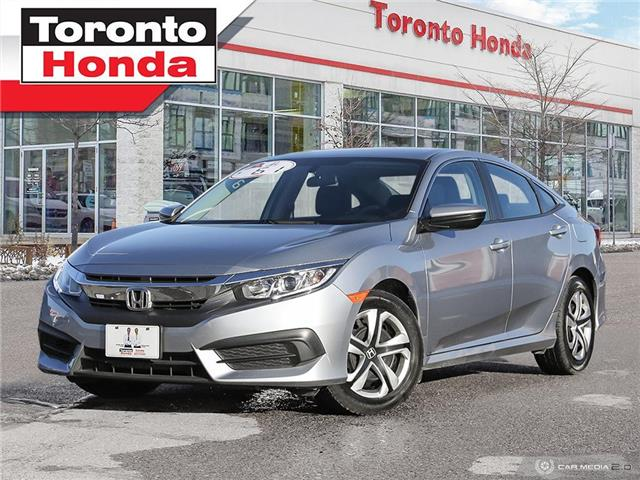 2018 Honda Civic Sedan LX|ONE OWNER|NO ACCIDENT|APPLY CARPLAY|HEATED SEAT (Stk: H41128P) in Toronto - Image 1 of 27