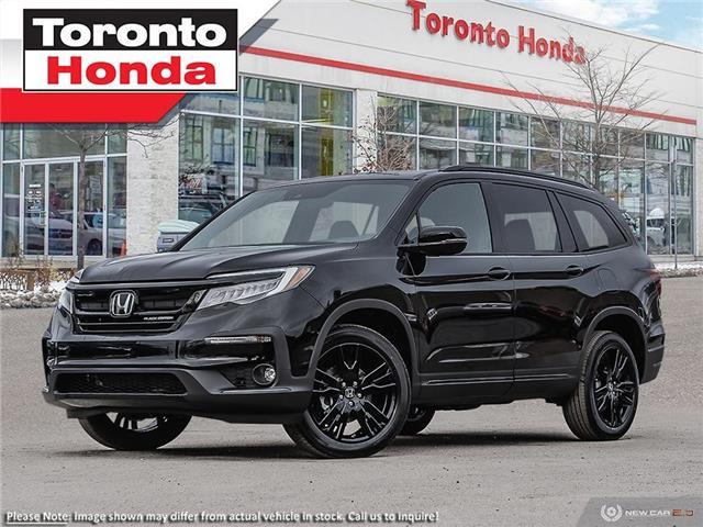 2021 Honda Pilot Black Edition (Stk: 2100015) in Toronto - Image 1 of 23