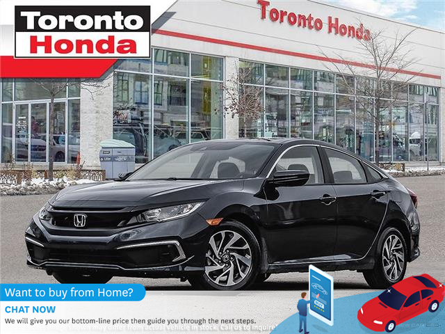 2021 Honda Civic EX (Stk: 2100065) in Toronto - Image 1 of 23