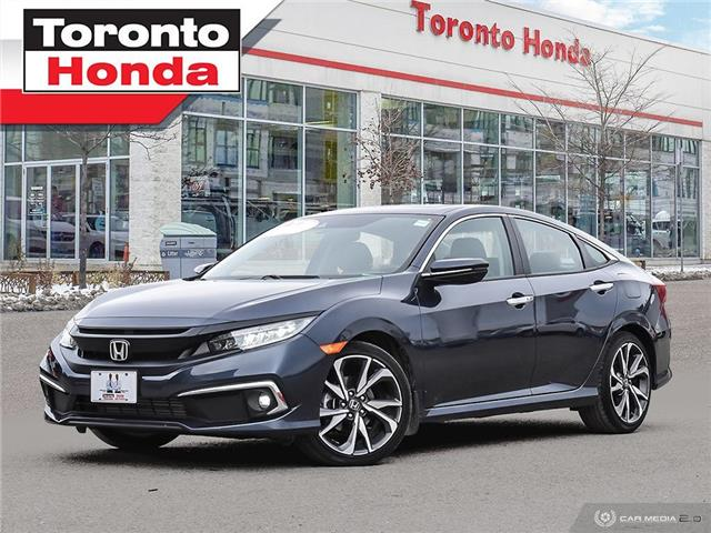 2020 Honda Civic Sedan Touring|GPS|Leather Roof|Heated Steering (Stk: H41137T) in Toronto - Image 1 of 27