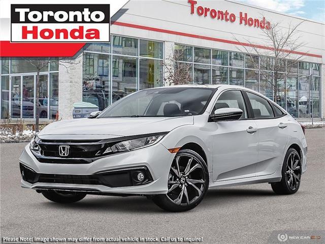 2021 Honda Civic Sport (Stk: 2100195) in Toronto - Image 1 of 23
