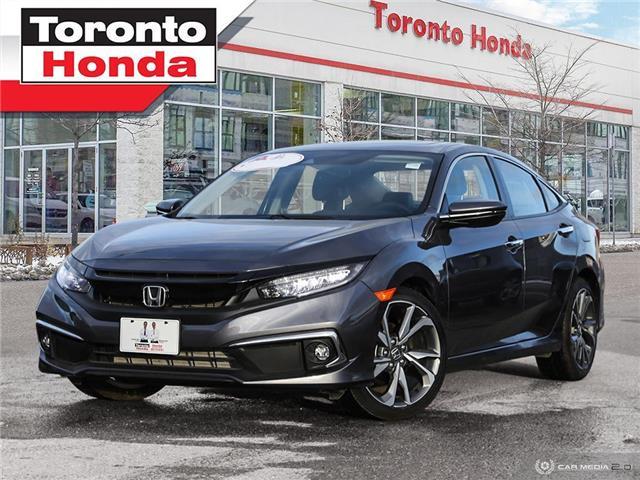 2019 Honda Civic Sedan Touring (Stk: H41121T) in Toronto - Image 1 of 27