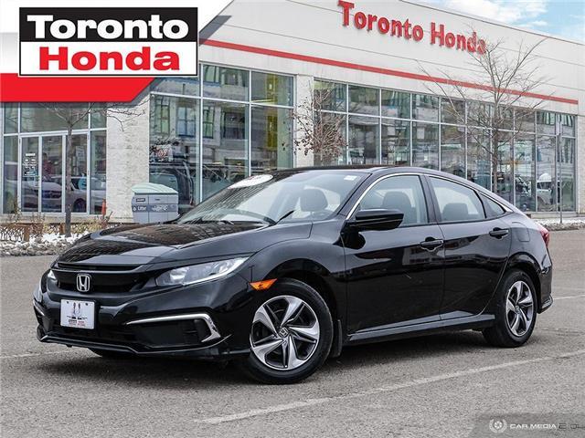 2019 Honda Civic Sedan LX (Stk: H41170T) in Toronto - Image 1 of 27