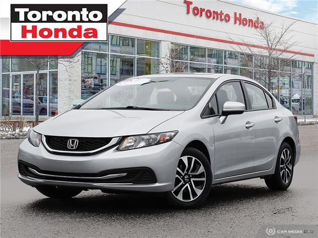 2015 Honda Civic Sedan  (Stk: H41168A) in Toronto - Image 1 of 27