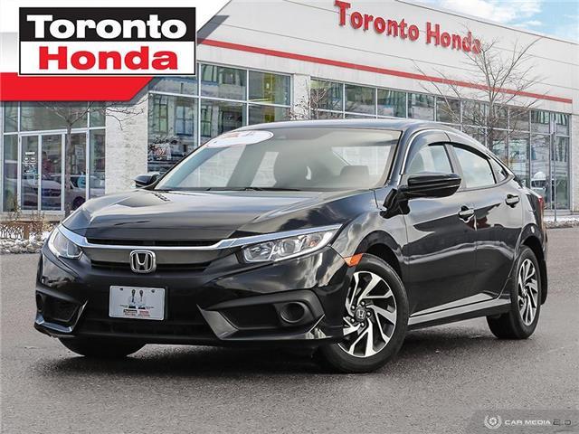 2018 Honda Civic Sedan SE|Push Start|Alloy|No Accident|Apple Carplay (Stk: H41178T) in Toronto - Image 1 of 27