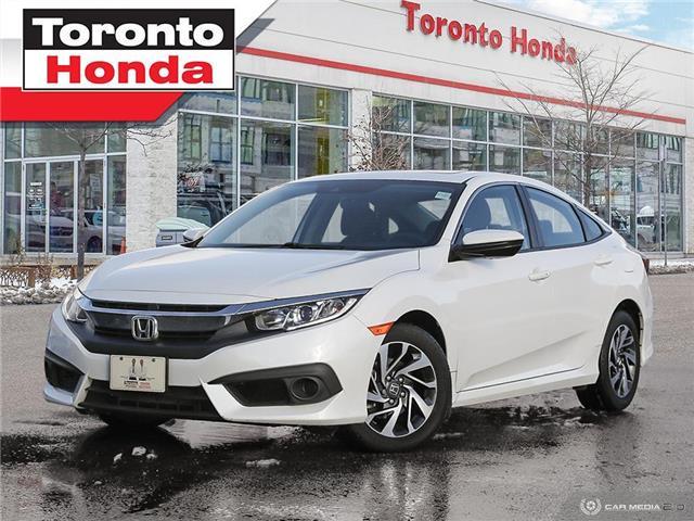 2017 Honda Civic Sedan EX|ROOF|LOW KM!!!|NO ACCIDENT|APPLE CARPLAY (Stk: H41204P) in Toronto - Image 1 of 27