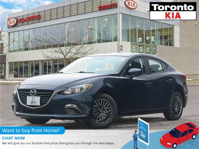 2016 Mazda Mazda3 ALLOY|GPS|HEATED SEATS|REAR CAMERA (Stk: K32260A) in Toronto - Image 1 of 27