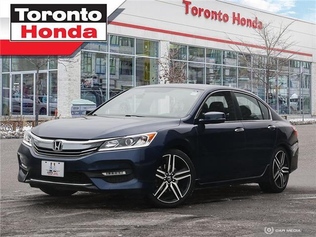2016 Honda Accord Sedan Sport|Clean Carfax|Engine remote starter (Stk: H41241P) in Toronto - Image 1 of 27