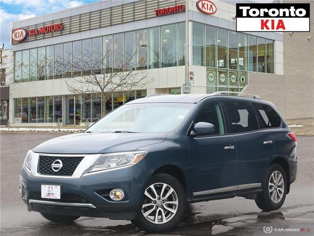 2014 Nissan Pathfinder SL|Rear Camera|Heated Seats|Heated Steering wheel (Stk: K32257P) in Toronto - Image 1 of 27