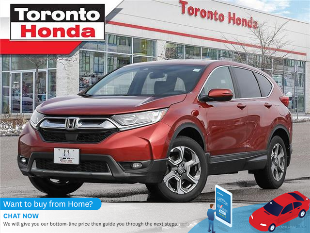 2017 Honda CR-V EX-L LEATHER ROOF ONE OWNER CLEAN CARFAX (Stk: H41260T) in Toronto - Image 1 of 27