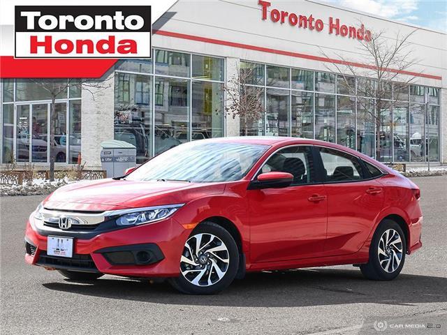 2017 Honda Civic Sedan w/Honda Sensing (Stk: H41229P) in Toronto - Image 1 of 27