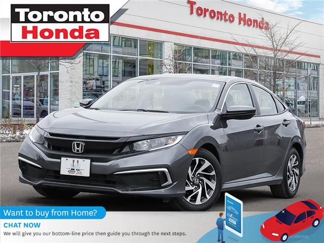2019 Honda Civic Sedan EX |7 Years/160,000KM Honda Certified Warranty (Stk: H41309P) in Toronto - Image 1 of 30