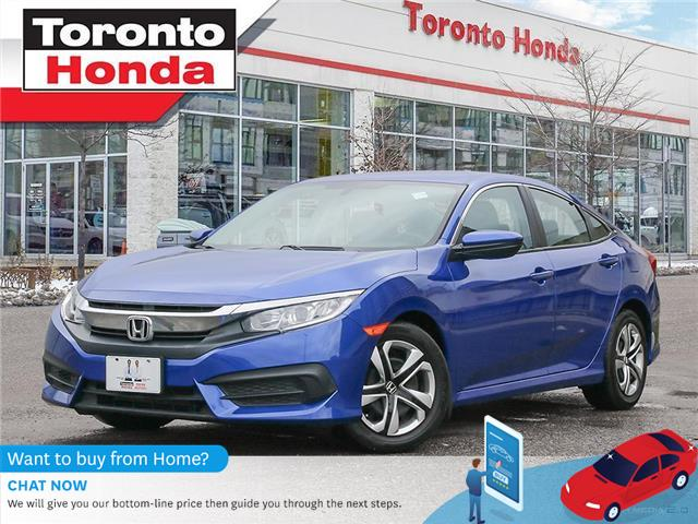 2016 Honda Civic Sedan LX (Stk: H41327T) in Toronto - Image 1 of 30