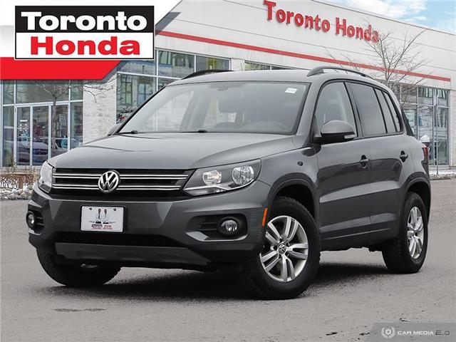 2017 Volkswagen Tiguan Trendline (Stk: H41348T) in Toronto - Image 1 of 30