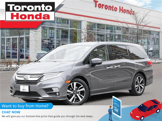 2019 Honda Odyssey Touring| 7 Years or 160,000KM Honda Certified Warr (Stk: H41387T) in Toronto - Image 1 of 30