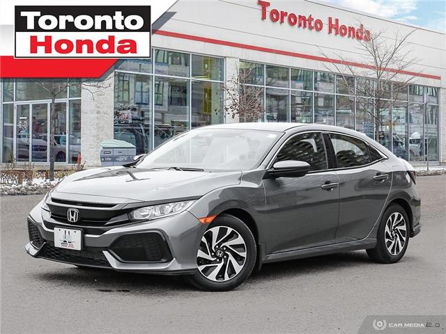 2019 Honda Civic Hatchback LX (Stk: H41402T) in Toronto - Image 1 of 30