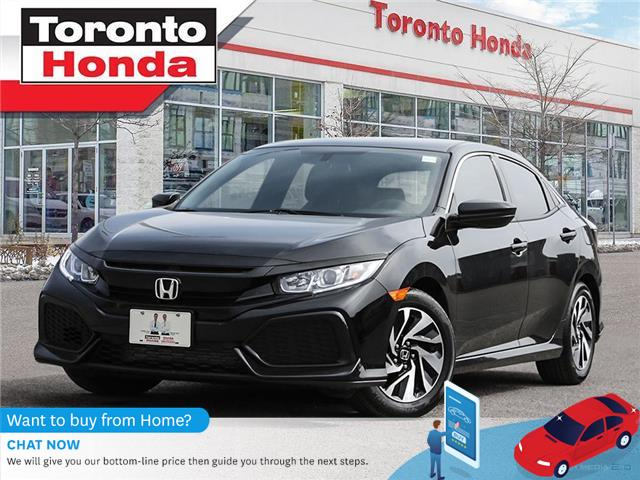 2018 Honda Civic Hatchback LX  7 Years/160,000km Honda Certified Warranty (Stk: H41374T) in Toronto - Image 1 of 29