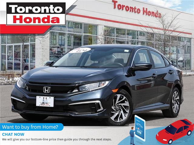 2019 Honda Civic Sedan EX 7 Years/160,000KM Honda Certified Warranty (Stk: H41465P) in Toronto - Image 1 of 30