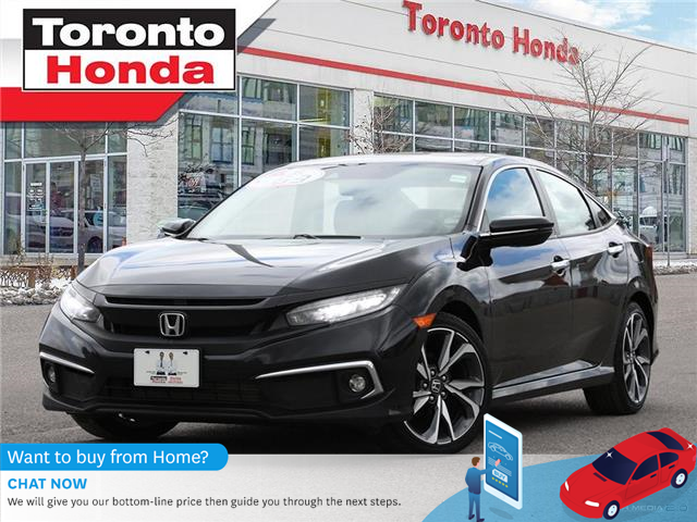 2019 Honda Civic Sedan Touring (Stk: H41468A) in Toronto - Image 1 of 30
