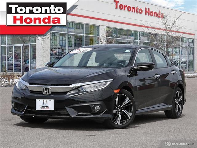 2018 Honda Civic Sedan Touring 7 Years/160,000KM Honda Certified Warranty (Stk: H41492T) in Toronto - Image 1 of 30