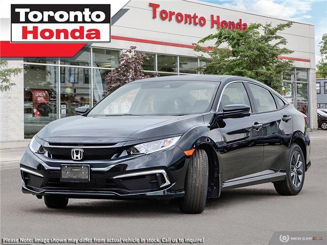 2021 Honda Civic EX (Stk: 2100243) in Toronto - Image 1 of 23