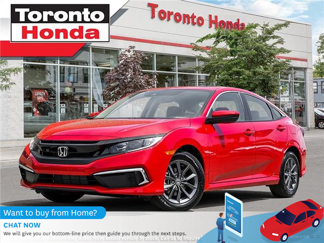 2021 Honda Civic EX (Stk: 2100245) in Toronto - Image 1 of 23
