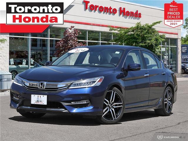 2017 Honda Accord Touring 7 Years/160,000KM Honda Certified Warranty (Stk: H41503T) in Toronto - Image 1 of 30