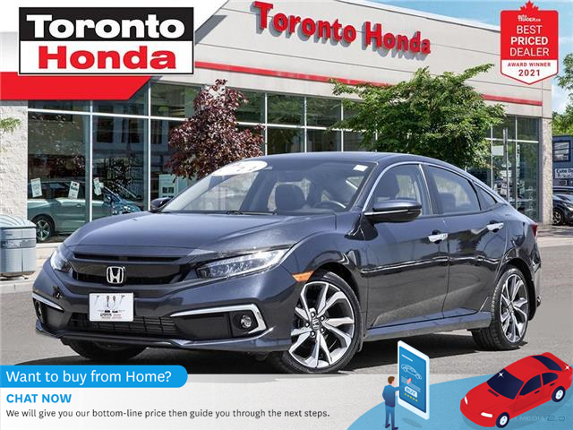 2019 Honda Civic Touring 7 Years/160,000KM Honda Certified Warranty (Stk: H41599A) in Toronto - Image 1 of 30