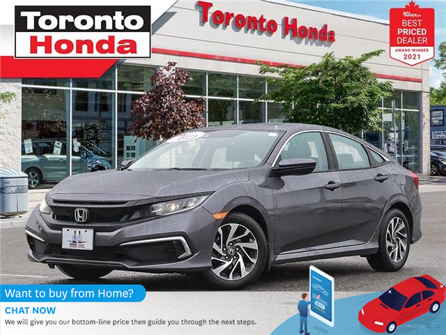 2019 Honda Civic EX (Stk: H41461P) in Toronto - Image 1 of 30