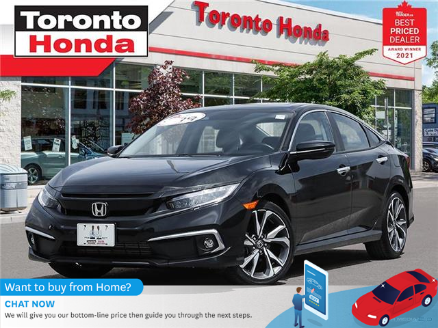 2020 Honda Civic Touring 7 Year/160,000KM Honda Certified Warranty (Stk: H41600A) in Toronto - Image 1 of 30
