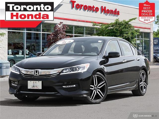 2017 Honda Accord Sport (Stk: H41549T) in Toronto - Image 1 of 30