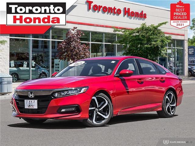 2018 Honda Accord Sport 7 Years/160,000KM Honda Certified Warranty (Stk: H41683P) in Toronto - Image 1 of 30